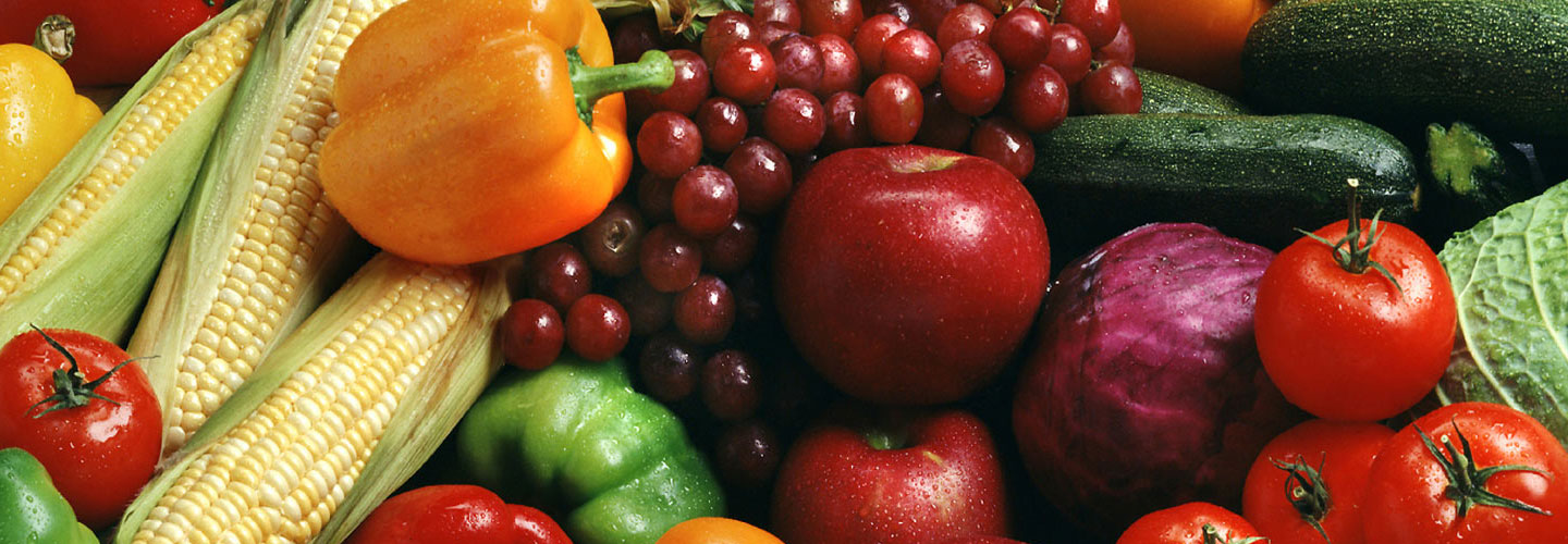 Fish, Fruits and Vegetables